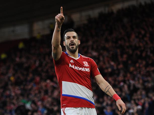 Alvaro Negredo is Middlesbrough's top scorer