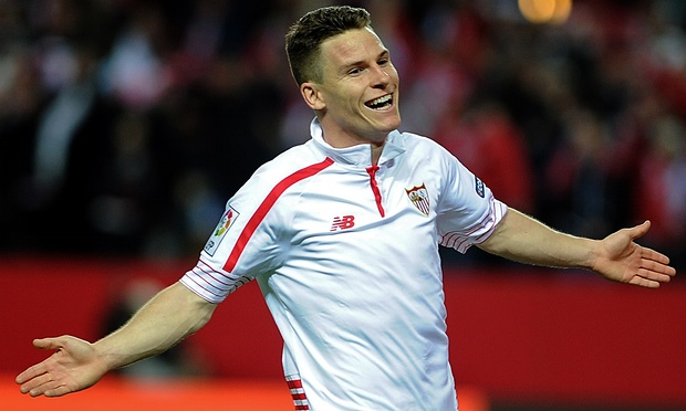 Atheltico Madrid's - Kevin Gameiro looks set to miss the tie with the foxes