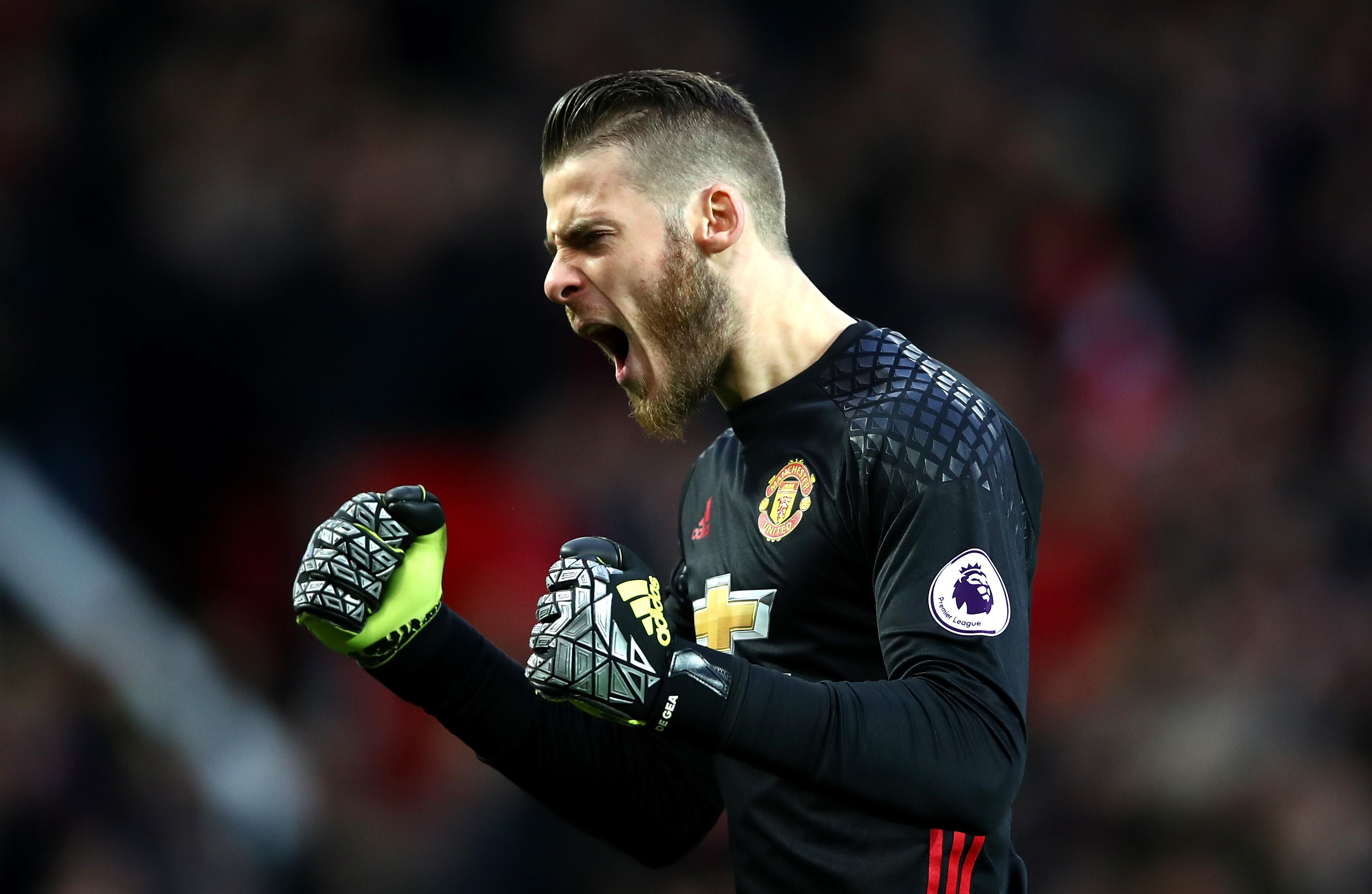 David De Gea is expected to return in goal for Manchester United today. Photo Credit: premierleague.com