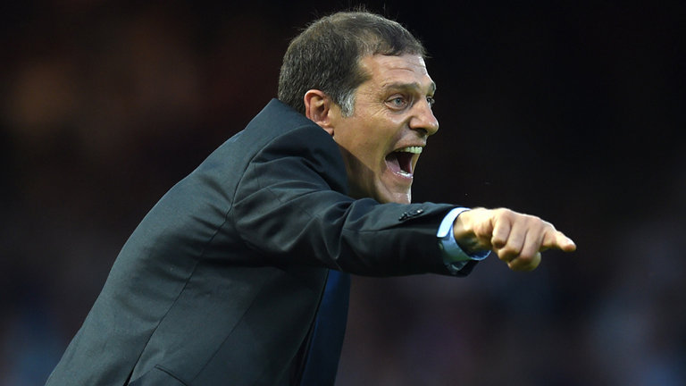 West Ham Manager, Slaven Bilic is feeling the pressure at the Olympic Stadium