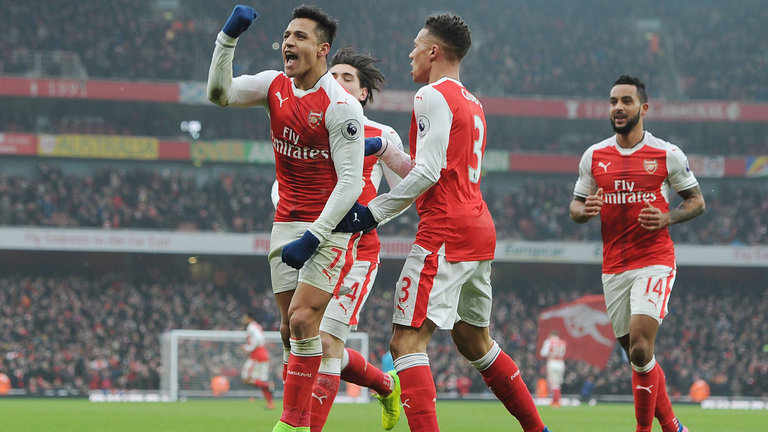 Alexis Sanchez key to Arsenal's Champions League hopes