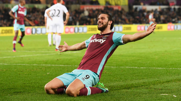 Andy Carroll will miss out against his former club
