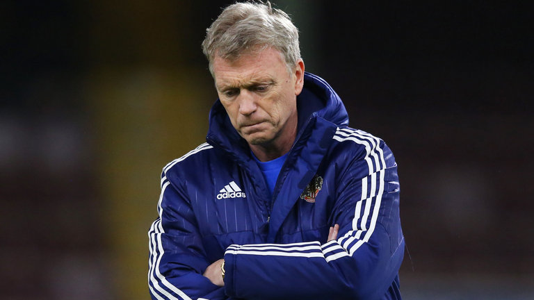 David Moyes could be in for a difficult evening after a poor season