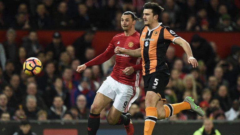 Harry Maguire has been key to Hull's recent form