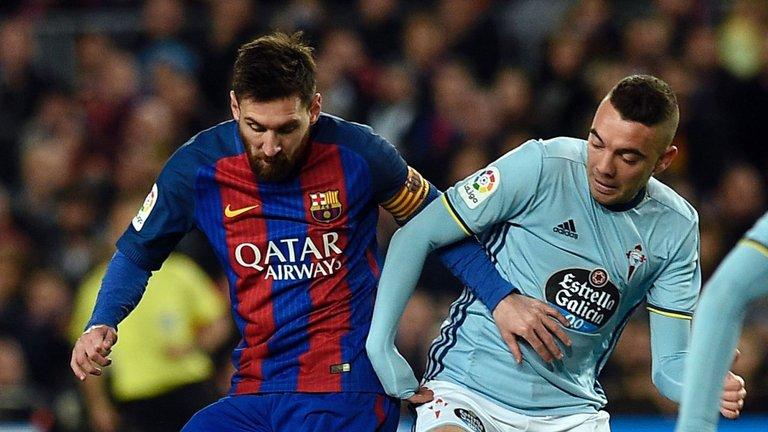Iago Aspas has scored 2 of Celta's lat 3 goals