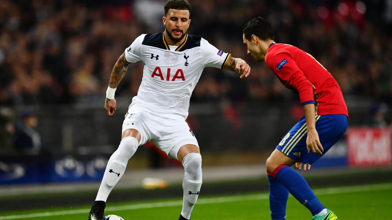Kyle Walker may be on his way out of Spurs at the end of the season