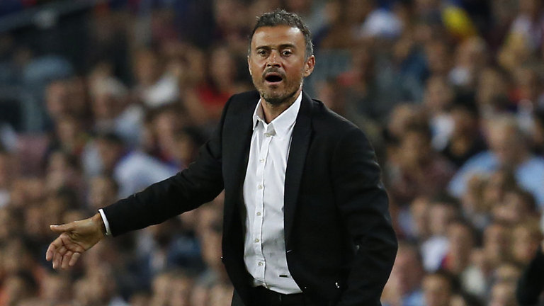 Luis Enrique will want to end his time at Barcelona with the league title