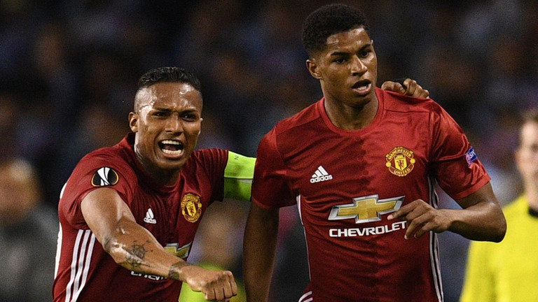 Marcus Rashford will hope he can fire United into the Champions League