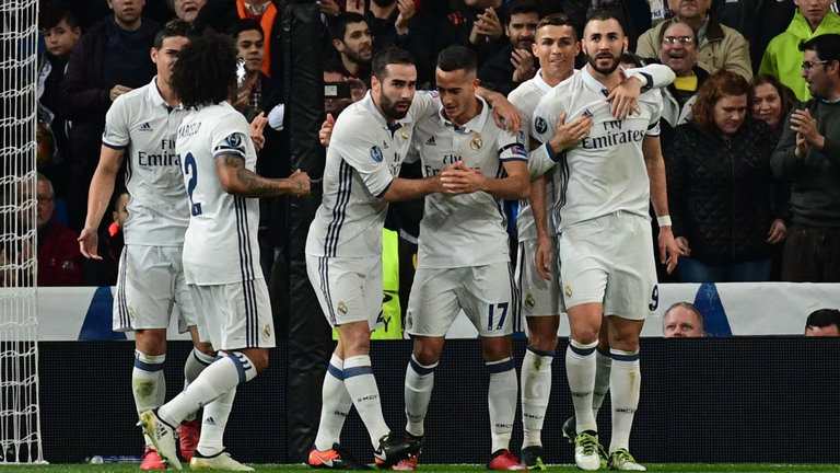 Real Madrid will be hoping for a great performance to keep them in the title race
