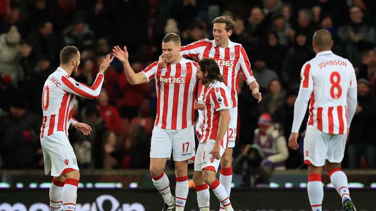 Ryan Shawcross can keep the likes of Alexis Sanchez and Oliver Giroud quiet on his day