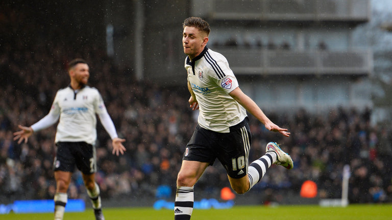 Tom Cairney has been in fantastic form for Fulham this season