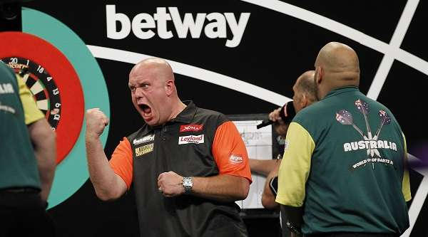 Michael van Gerwen will be representing Holland at the 2017 PDC World Cup of Darts