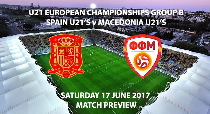 Spain U21's vs Macedonia U21's - Match Preview
